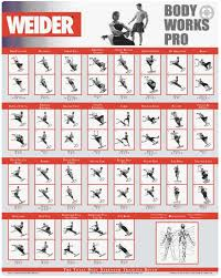 Total Gym Workout Chart Pdf Weider Ultimate Body Works Review Total Home Gym Workout