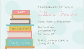 Quotes For Baby Books Unique Baby Shower Book Invitation Good Quotes For Baby Books Image Quotes