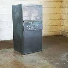 parcel drop box. Brilliant Box Parcel Drop Planter With Box