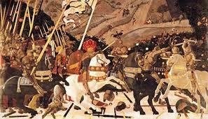 Реферат Битва при Сан Романо Паоло Уччелло ru П Уччелло Битва при Сан Романо Дерево Темпера 1456 1457