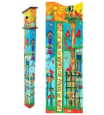 garden poles. garden poles love 6 ft art pole decorative painted peace new jade polesworth opening times r