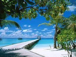 50+] Beach Scenes Desktop Wallpaper on ...
