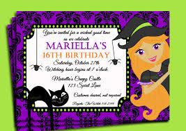 Free Printable Halloween Birthday Invitations Dolanpedia