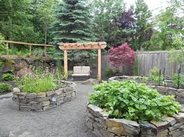 exterior small stone planter box bedroommagnificent lush landscaping ideas