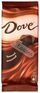 <b>Шоколад Dove тёмный</b>, <b>90</b> г — Едадил