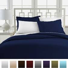 king cal king navy beckham hotel collection luxury soft brushed 1800