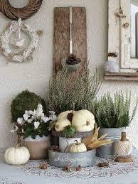 All In White Classic Thanksgiving Decoration