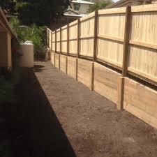 retaining wall brisbane timber rock