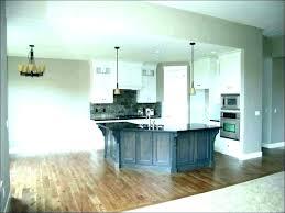 slate blue kitchen cabinets light grey in dark cabi