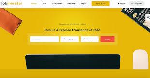 jobmonster job portal wordpress theme jobmonster job portal wordpress theme