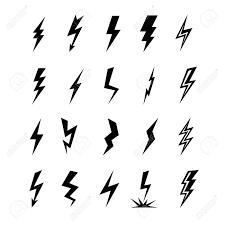 icon lighting. Contemporary Lighting Vector  Lightning Silhouette Lightning Bolt Icon Set Of Black  Icons Storm Lightning Thunderbolt Silhouettes Thunder Lighting Icons Intended Icon
