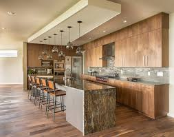 Waterfall Kitchen Counter Cool Top Ace Quartz Kitchen Counters Setting  Ideas Kitchen Decoration