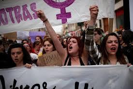 Spain girl gang sex