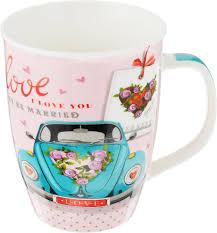 <b>Кружка Loraine Love</b>, цвет в ассортименте, <b>340</b> мл
