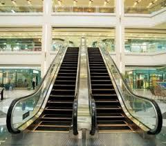 escalator mall. escalator for shopping mall (gre30) a