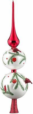 European Blown Glass Christmas Tree Toppers Finials  BumblegumsChristmas Tree Finials