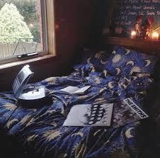 dress stars moon stars blue bedding bedding sleep bedding bedroom bedding yellow dark blue galaxy print shorts jewels accessories bedding