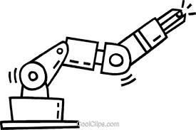 ロボットアーム ロイヤリティ無料ベクタークリップアートイラスト