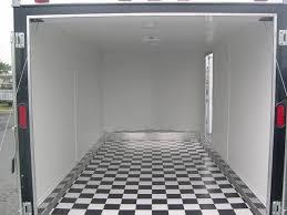 motorcycle trailer flooring designs