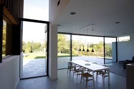 Internal view of KELLER minimal windows Sliding Glass Doors used on the  Edge Hill project