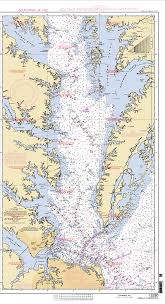 Upper Chesapeake Bay Chart Anchorages Along The Chesapeake Bay
