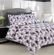 ultra soft flannel 5 ounce printed duvet cover set various designs
