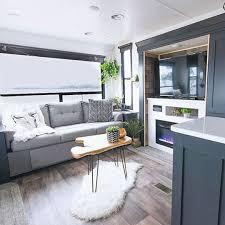 Image Camper Conversion Top Farmhouse Rv Decorating Ideas Decor Its Incredible Farmhouse Rv Interior Decor Its