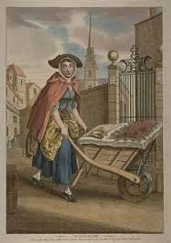historical background gender in the proceedings central  a cherry seller a wheelbarrow on the strand c 1780