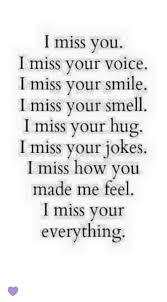 Missing You Pics I Miss You Miss Your Voice I Miss Your Smile I Miss Your Smell I 17