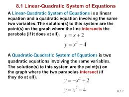 systems of equations in two variables math math 1 chapter 8 systems of equations 2 systems