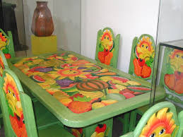 brightly painted furniture. Brightly Painted Furniture E