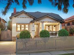 Small Picture Weatherboard californian bungalow house exterior with picket fence
