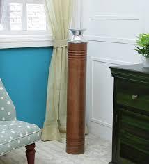 brown v kyra flower big metal vase