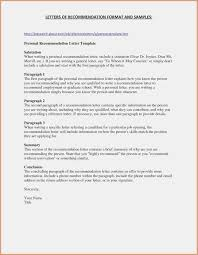 10 Request Letters Of Recommendation Resume Samples