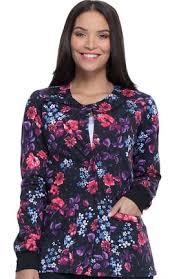 <b>Printed</b> Scrub Jackets for <b>Women</b> - Shop Discounted Prices   allheart