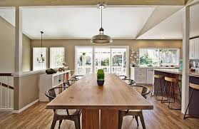 kitchen table. View In Gallery Rustic Modern Kitchen Decor Table