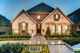 Union Park 50S in Aubrey TX New Homes & Floor Plans by
