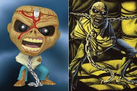 <b>Iron Maiden</b> Finally Get Funko Figures, Four Eddies Coming Soon