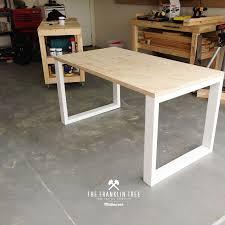 Diy office table Desk Image Of Williamsburg Study Table Plywood Homedit Image Of Williamsburg Study Table Plywood Plywood Furniture In