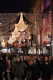 Festive Lighting Dublin Christmas Lights Spotted Being Put Up In Dublin In October