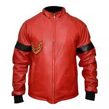 smokey and the bandit burt reynolds red leather er jacket top celebrity jackets