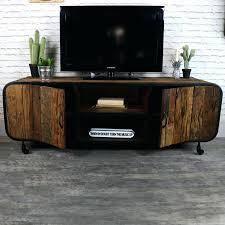 Industrial Tv Cabinet Rustic Style Media Unit  Units Uk Rustic Industrial Tv Stand21