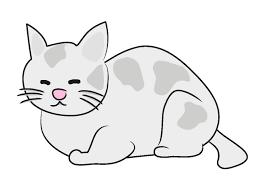 猫ネコクリップアート動物イラストフリー素材