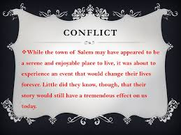 the crucible by arthur miller ppt video online 6 conflict