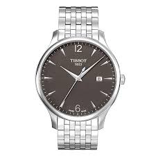 men s tissot stainless steel bracelet watch ernest jones men s tissot stainless steel bracelet watch product number 8893853