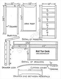 pdf woodwork free roll top desk plans diy plans