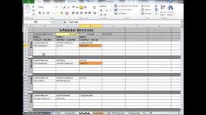 free schedule builder employee schedule maker free excel scheduling template