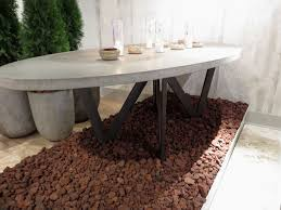 Kitchen Table : Contemporary Large Stone Dining Table Cheap ...