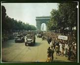 James H. White Panoramic View of the Champs Elysees Movie
