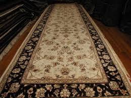 blue and red karabagh fl turkish rug
